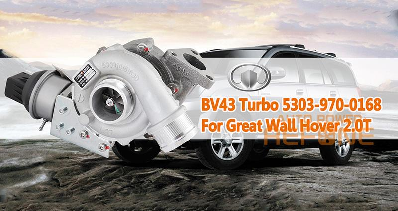 Great Wall Hover turbocharger bv43