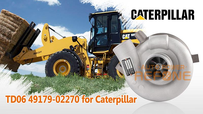 Caterpillar TD06 turbocharger