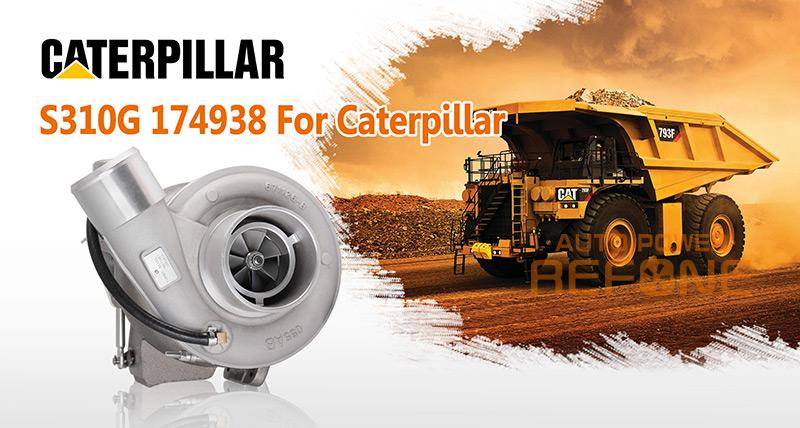 Caterpillar Industrial turbocharger C9 S310G