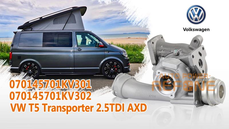 VW T5 Transporter 2.5TDI turbocharger