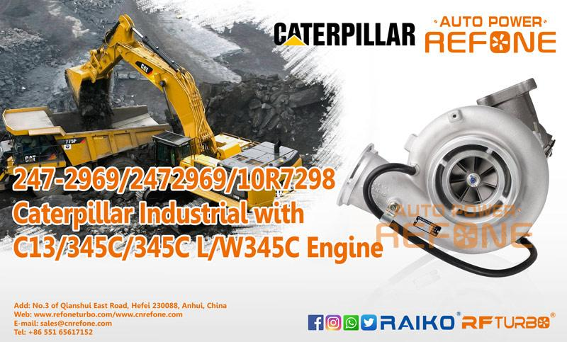 C13 Caterpillar turbocharger
